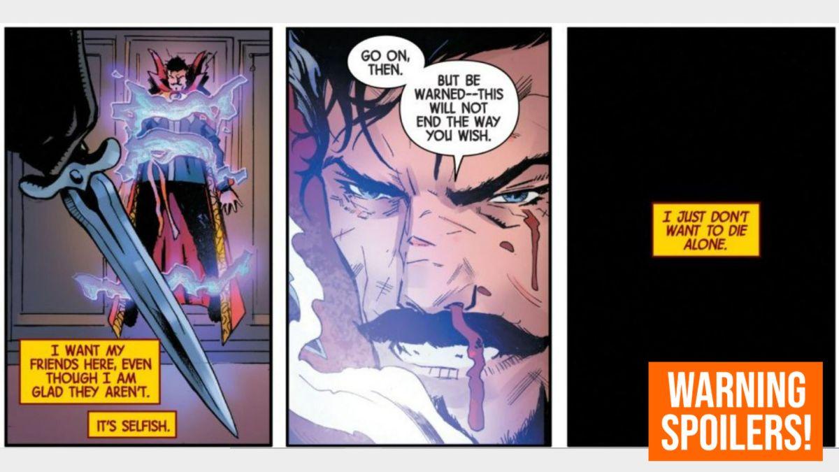 La muerte del Doctor Strange termina con un regreso sorpresa