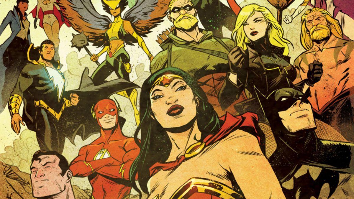 Justice League vs.La Legión de Superhéroes llegará a DC en 2022