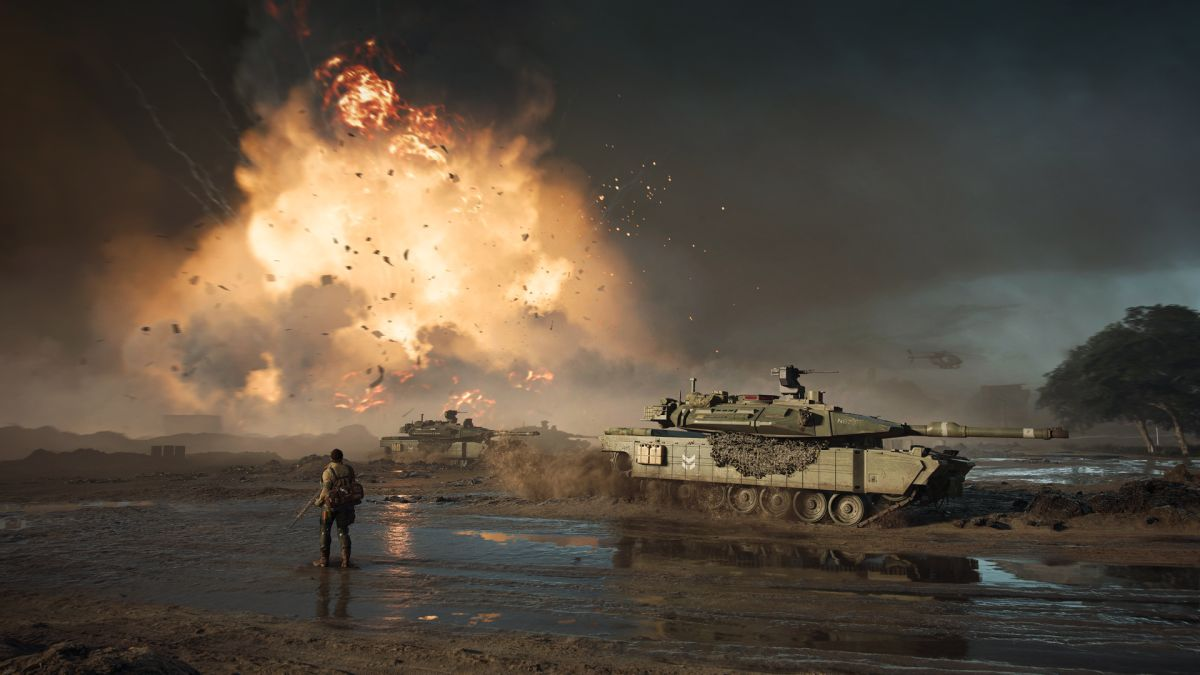 Las fechas de la beta de Battlefield 2042 pueden establecerse para la próxima semana