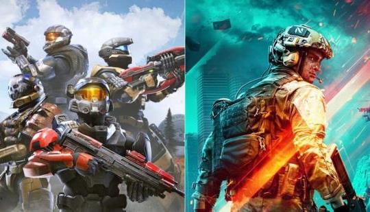 Halo Infinite vs.  Battlefield 2042: Batalla de la beta
