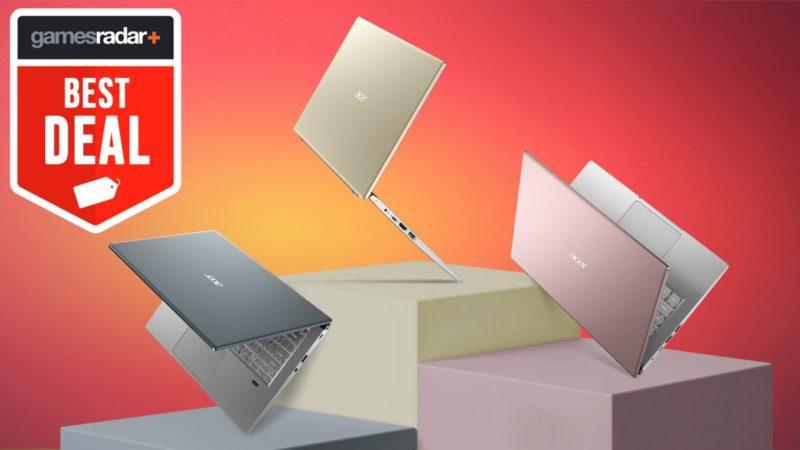 Este Acer Swift X es en realidad una de las mejores ofertas de portátiles para juegos baratos que hemos visto en toda la semana