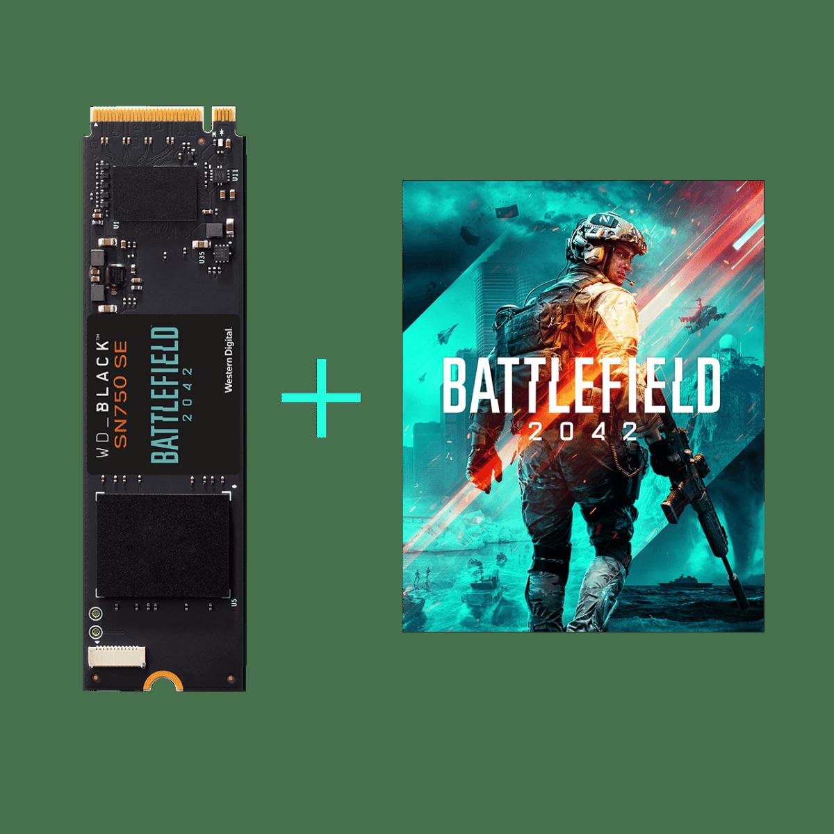 Fortalece tu arsenal con este rápido SSD WD_BLACK y obtén Battlefield 2042 en un solo paquete